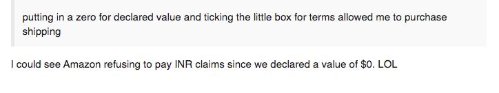 amazon forum complainers