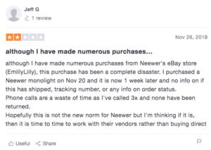 neewer emilyandlily scams