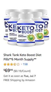 keto boost shark tank scam