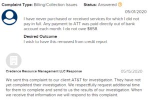 credence resource management scam