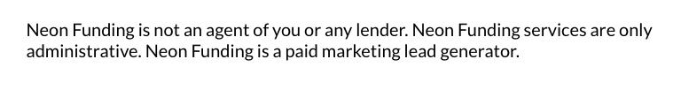 neon funding scam