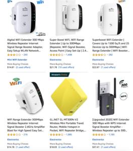 amazon warehouse deals wifi extenders