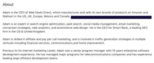 adam feinberg scam web deals direct
