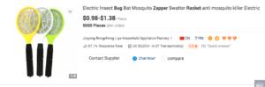zap it bug zapper scam
