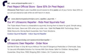 google ad scams