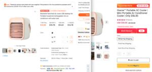 portable ac cheaper locobb