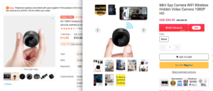 lobocc mini spy camera scam