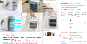 glacier portable air conditioner scam